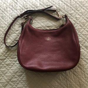 EUC Coach leather bag